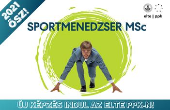 Sportmenedzser mesterszakot indítunk 2021 őszén