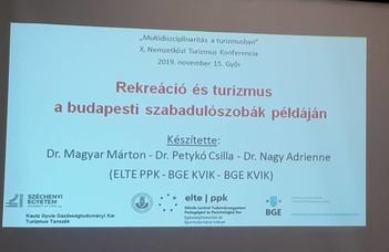 ESI-oktató előadása multidiszciplináris turizmus konferencián